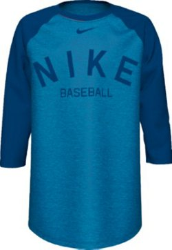 Boys' Dri-FIT Baseball 3/4 Sleeve T-shirt