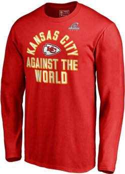 Kansas City Chiefs Men's Super Bowl LIII Playoff Participant Against The World Long Sleeve T-shirt
