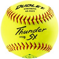 Dudley Thunder SY 11 in ASA Slow-Pitch Softballs 6-Pack