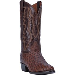 Men's Pershing Full Quill Ostrich Leather Western Boots