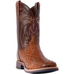 Men's Philsgood Full Quill Ostrich Leather Western Boots