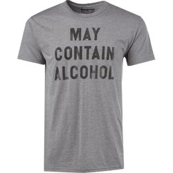 Men's May Contain Alcohol Graphic T-shirt