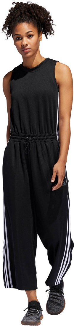 adidas Women's Cropped Leg Snap Romper