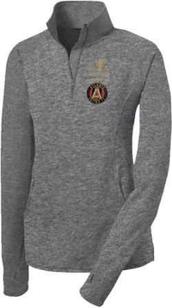 Atlanta United FC Women's 2018 MLS Cup Champions Prime 1/4 Zip Pullover
