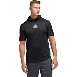 adidas Men's Team Issue Short Sleeve Hoodie