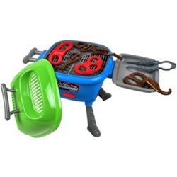 Light-Up and Sizzle Bubble Grill