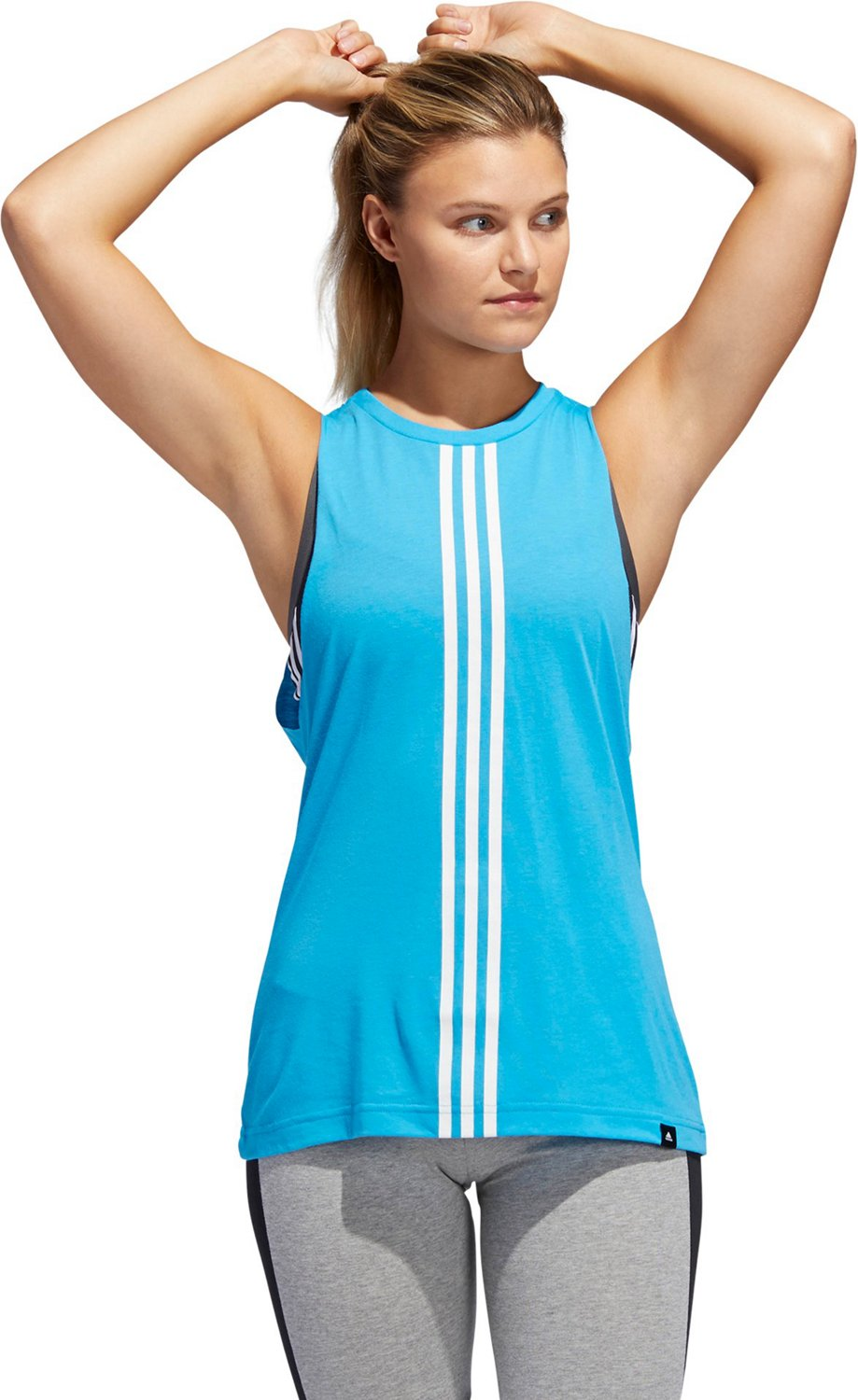 e6ec8918a Display product reviews for adidas Women's 3-Stripe Muscle Tank Top