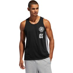 adidas Men's Badge of Sport Stack Tank Top