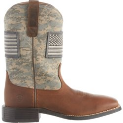 Men's Sport Patriot Camo Western Boots