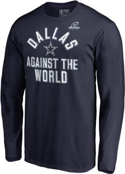 Dallas Cowboys Men's Super Bowl LIII Playoff Participant Against The World Long Sleeve T-shirt