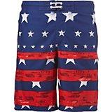 74a5b2cbeade8 Men's Americana Faded Stars and Stripes Board Shorts