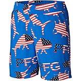 fd2e14a1e8 Swim Boys Red Cargo Graphic Swim Trunks Board Shorts