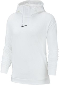 Nike Women's Therma Fleece Hooded Long Sleeve Top