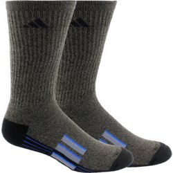 adidas Climalite X Cushioned X II Athletic Crew Socks 2-Pack