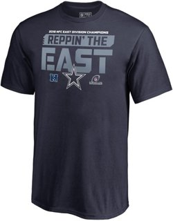 Dallas Cowboys Youth 2018 NFC East Division Champions Fair Catch T-shirt