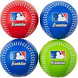 Franklin Sports MLB Kids' Oversize Foam Baseballs 4-Pack