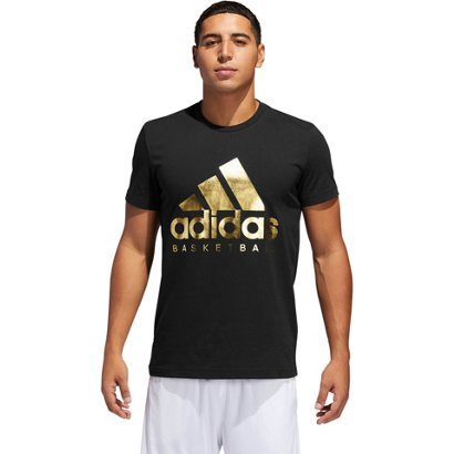 30fe57aaaa39 ... Men s Gold Foil Badge of Sport Basketball T-shirt. Women s adidas Sports  Bras. Hover Click to enlarge