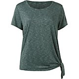 BCG Women's Plus Size Athletic Side Tie Muscle T-shirt
