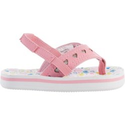 Toddlers' Multi-Heart Thong Sandals