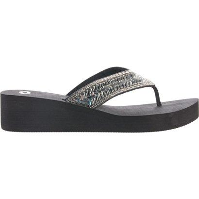 5ba0610c7 ... Bling Wedge Sandals. Women s Sandals   Flip Flops. Hover Click to  enlarge