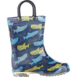 Toddlers' Shark PVC Boots