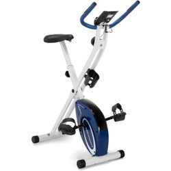Foldable Upright Exercise Bike with Hand Pulse