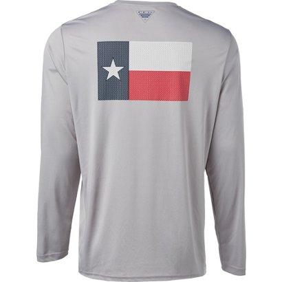 8f7fbe8e Columbia Sportswear Men's PFG Fish Series II Terminal Tackle Long Sleeve T- shirt