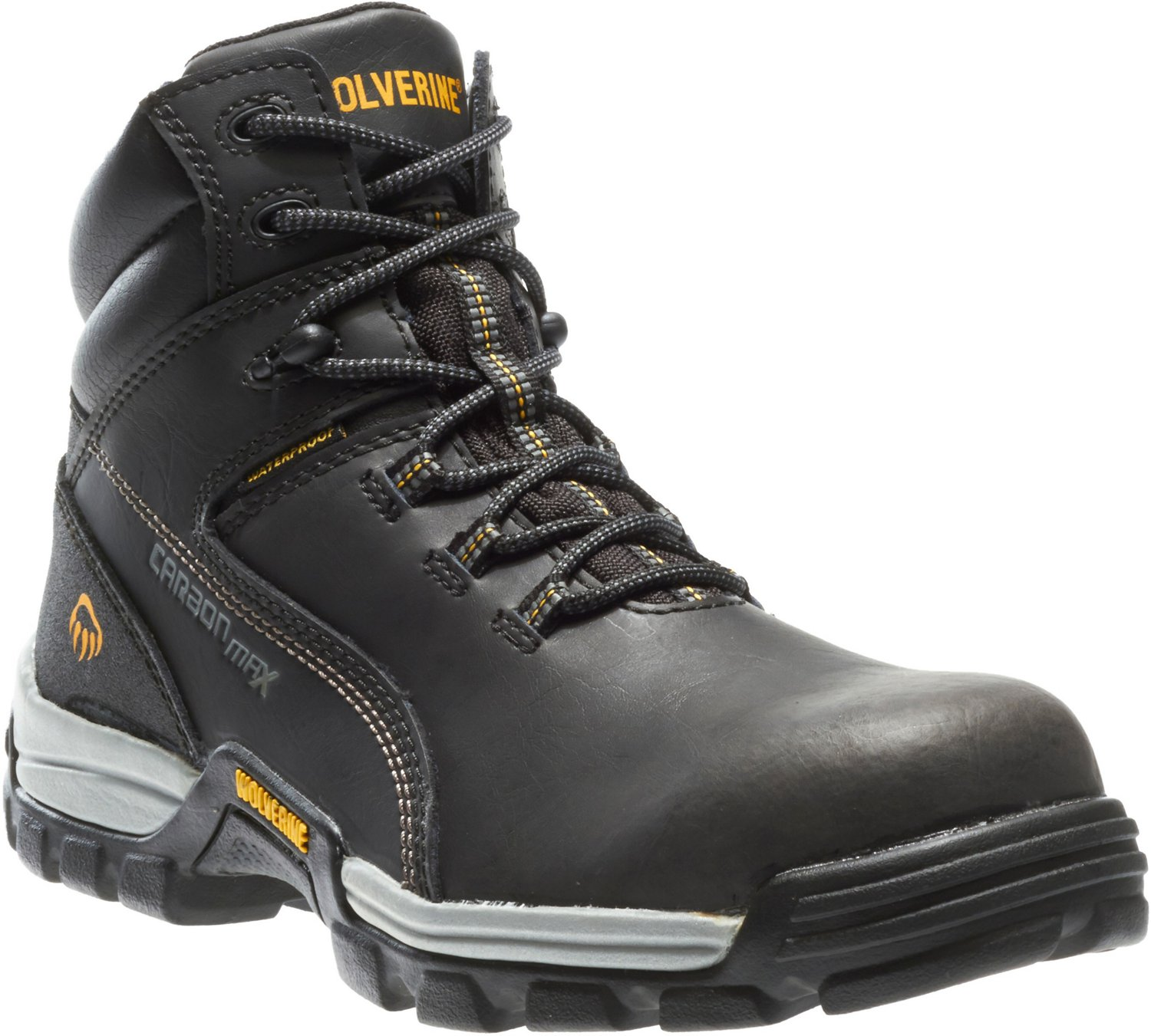 bcb1d913075 Wolverine Men's Tarmac Reflective 6 in EH Composite Toe 6 Lace Up Work Boots
