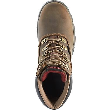 666b0a97124 Wolverine Men's Cabor EPX 8 in EH Steel Toe Lace Up Work Boots
