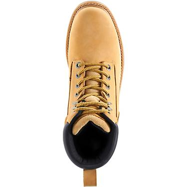 73a4934b252 Wolverine Men's Floorhand 8 in EH Composite Toe Lace Up Work Boots