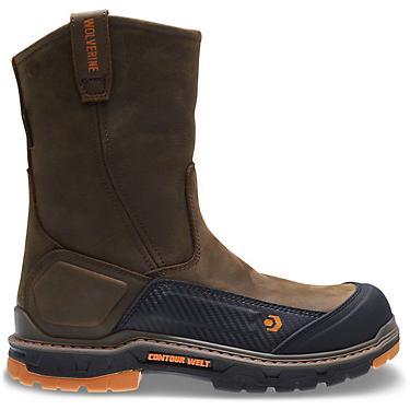 213cfaeb71c Wolverine Men's Overpass CarbonMax EH Wellington Work Boots
