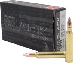 Hornady BLACK™ FMJ .223 Remington 62-Grain Rifle Ammunition