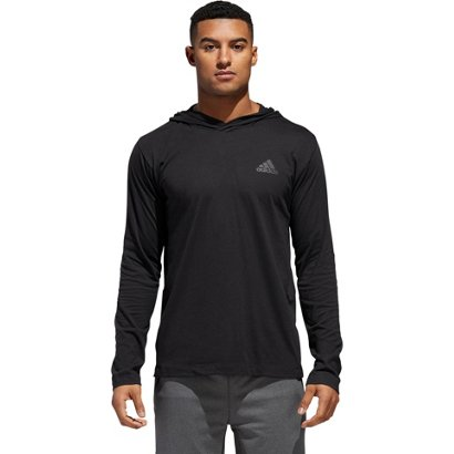89a8453a3848 adidas Men s Ultimate 3-Stripe Hoodie T-shirt