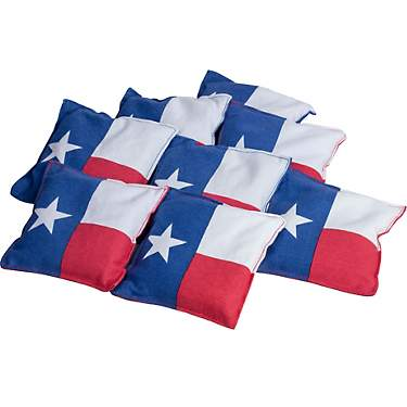 Triumph Texas Flag Beanbags 8-Pack