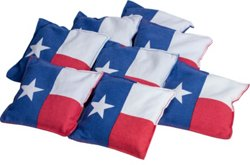 Texas Flag Beanbags 8-Pack