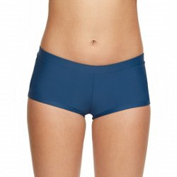 Juniors' Solid Swim Shorts