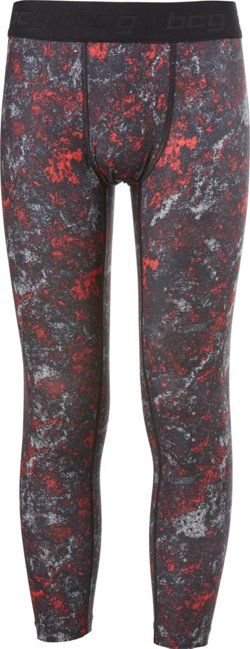 Boys' Printed Compression Tights