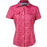 df8416e43d4c9d Magellan Outdoors Women s Aransas Pass Short Sleeve Printed Top