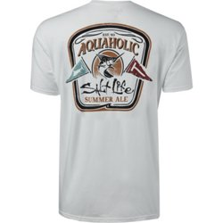 Men's Aquaholic Flags T-shirt