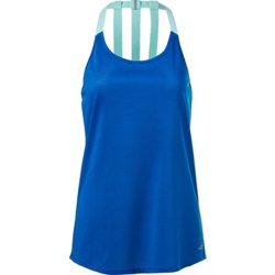 Women's Athletic Elastic Racerback Running Tank Top