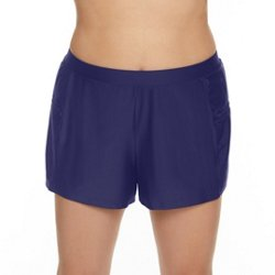 Women's Plus Size Solids Swim Shorts