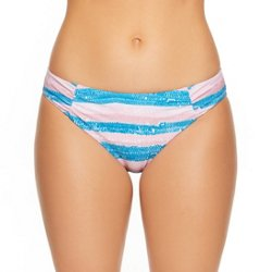 Women's Mineral Stripe Hipster Swim Bottoms