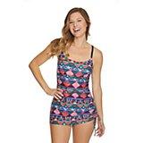 f9d466bde8d9d Women's Aztec Step 1-Piece Swim Dress