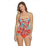 21746bea8 Sweet Escape Women s Bold Bloom Bandeaukini Swim Top