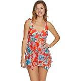 1f2672ac80279 Women s Bold Bloom 1-Piece Swim Dress