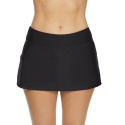 Women's Solids Swim Skort