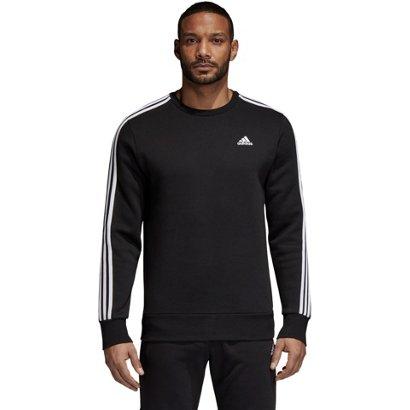 c4ca9859679 ... adidas Men s Essentials 3-Stripes Fleece Sweater. Men s Hoodies    Sweatshirts. Hover Click to enlarge