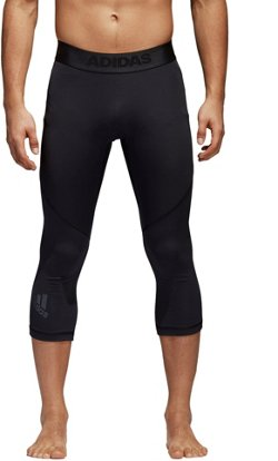 adidas Men's AlphaSkin Sport Three-Quarter Tight