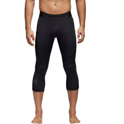 adidas Men's AlphaSkin Sport Three-Quarter Compression Tight