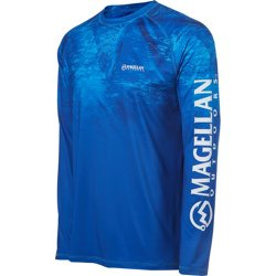 Men's Realtree Fish Ombre Long Sleeve T-shirt
